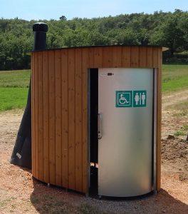 nowato Trockentoilette Kazuba KL2 barrirerefrei - öffentliche Toilette