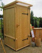 nowato Komposttoilette für den Garten. Modell 'Wiese'
