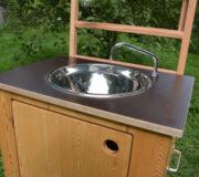 nowato Handwaschbecken 2020 - Detail Spüle und Wasserauslauf