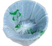 Kompostierbare Beutel 120L von Bio4Pack, passend für den 80L Behälter.