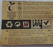 Biobags für Komposttoilette - Detail