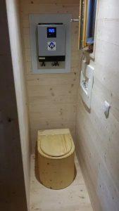 Biotoilette 'Der Marienkäfer' - in Tinyhouse