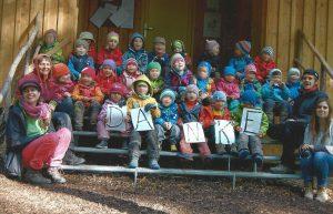 Danke ! Karte des Waldkindergarten Alzey