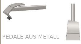 ECODOMEO - Pedale aus Metall
