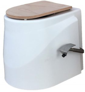 Toilettensitz Neodyme mit Toilettendeckel für Toilettensystem ECODOMEO