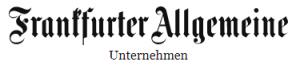 Logo Frankfurter Allgemeine Zeitung  - Sparte Unternehmen