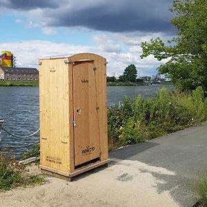 Komposttoilette HEIDE aus dem Mietbestand - VERKAUF