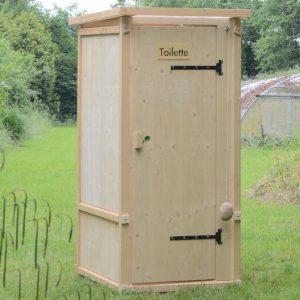 Outdoor Komposttoilette 'Wiese' - Gartentoilette