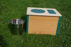 Komposttoilette Die Bunte