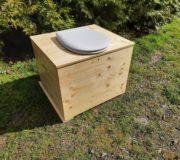 Innentoilette - Komposttoilette Die große Kleine, mit 80 Liter Fass und OLFA Toilettensitz