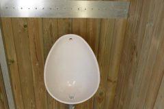 nowato - Trockentoilette Kazuba KL2 Barrierefrei mit Urinal - Innenansicht