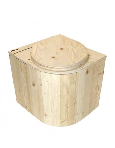 Kompost-Toilette Die Libelle - Ansicht von vorne