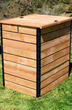 Komposter 800 Liter aus Douglasie für Komposttoiletten