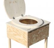 'Der Käfer' - Innentoilette aus Holz - unbehandelt