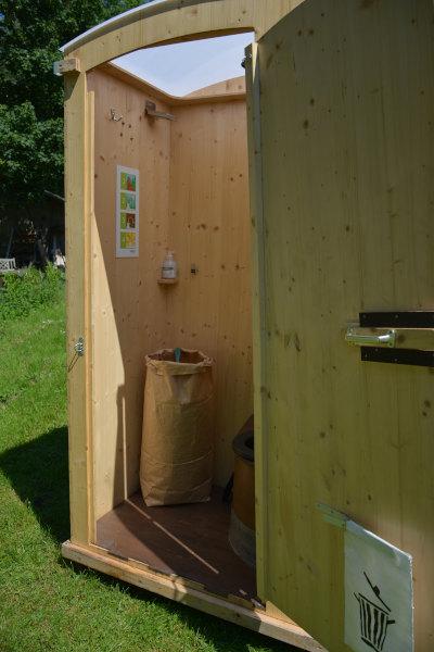 Komposttoilette HEIDE - Papiertasche mit Einstreu