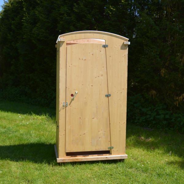 Komposttoilette Toilettenhäuschen HEIDE mit 80 L Behälter