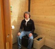 Komposttoilette WALD-barrierefrei - Hohenlochenhütte Wolfach, Innenansicht