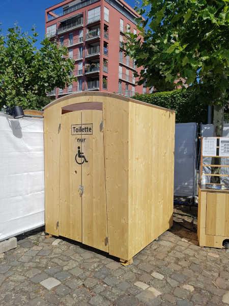 Komposttoilette mieten - HEIDE-barrierefrei - Komposttoiletten zum mieten