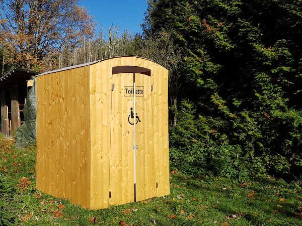 Barrierefreie Toilette mieten