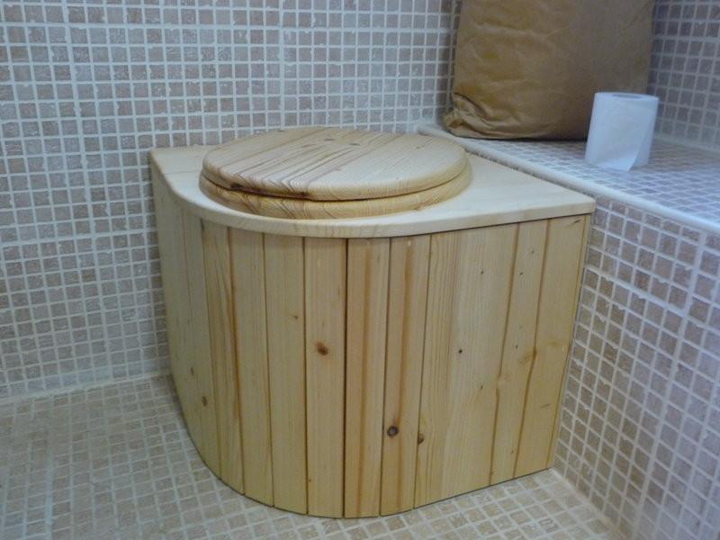 Komposttoilette für Innenräume 'Das Eckchen'