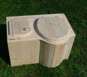 """nowato Komposttoilette """"Der Schmetterling"""" · aus Fichte · unbehandelt"""