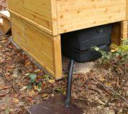 """nowato Komposttoilette Modell """"Wald"""" mit Biolan eco 200L _Borken · Biolan eco 200L mit Sickerwasserkanister"""