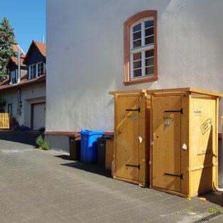 Komposttoilette Modell Wiese
