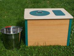 Komposttoilette 'Die Bunte'