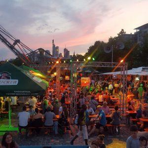 nowato Komposttoiletten - Theaterfestival Sommerwerft 2017, Frankfurt am Main