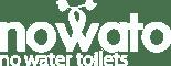 Logo nowato - no water toilets - Komposttoiletten und Trockentoiletten
