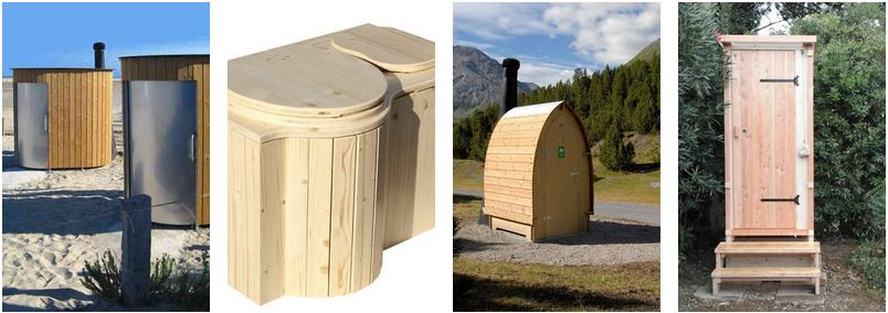 nowato: öffentliche Trockentoiletten Kazuba  ·  Einstreutoiletten ·  Toilette mit Biolan