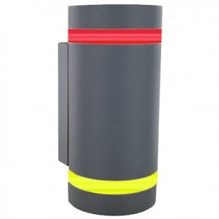 VARIOLITE® Titanum LED-Design-Lichtsignalleuchte · Toilette-Notruf Set · nowato Barrierefreie Komposttoilette