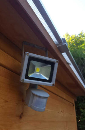 Toilette WALD BARRIEREFREI XXL - LED Strahler, außen