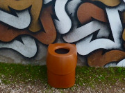 Toilettensitz für ECODOMEO-Trenntoilette. Tentale Farbe Kupfer