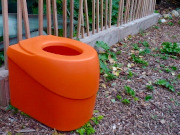 Toilettensitz ECODOMEO Tentale. Orange