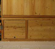 Toilettenhaeuschen Wald-Standard. Option : Podestverkleidung