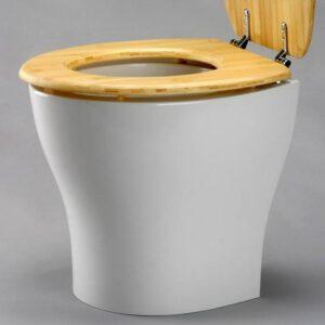 Trenn-Toilettensitz mit integriertem Urintrennungsansatz