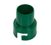 Trenntoiletten Einsatz von TROBOLO - Adapter für Schlauchanschluss