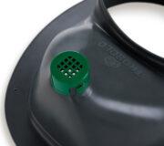 Trenntoiletten Einsatz grau - Schutzgitter für Urinauslauf