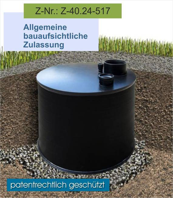 Trenntoilettensystem - Goldgrube aus Kunststoff