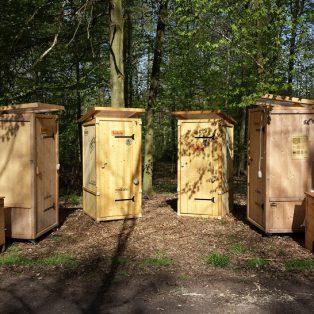 Trockentoilettevermitung - Mobile Toiletten
