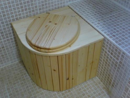 Komposttoilette für zu Hause 'Das Eckchen'