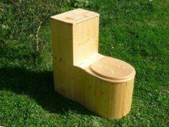 Komposttoilette 'Die Schnecke' behandelt