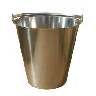 Eimer aus Edelstahl für Komposttoilette