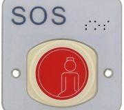 VarioMobil Braille Funk-Ruftaster IP68 869MHz · Toilette-Notruf Set · nowato Barrierefreie Komposttoilette