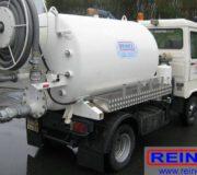 Wartung Trocken-Trenntoilette mit Goldgrube - 4 - Entleerung durch eine Vakuumfahrzeug - Entsorgungsfahrzeug, Beispiel