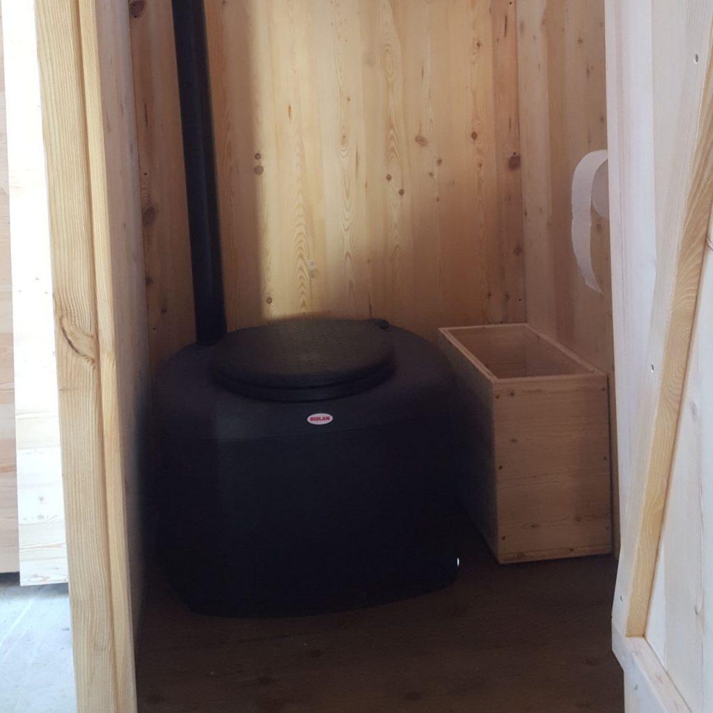 Header - Komposttoilette 'Wald' mit Biolan. [Galerie Wald standard Biolan]