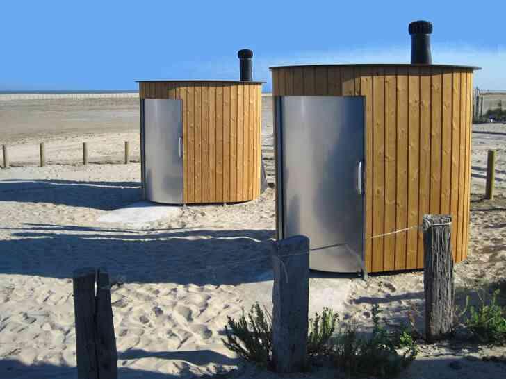 Trockentoilette KL2 barrierefrei - öffentliche Toilette - Strand