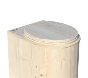 Komposttoilette Marienkäfer unbehandelt
