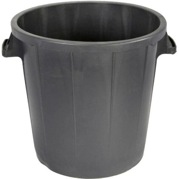 nowato - Fass 80 Liter aus Kunststoff. Foto ohne Deckel